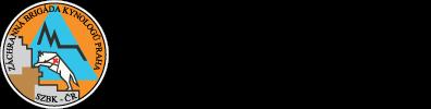 Záchranná brigáda kynologů Praha Logo